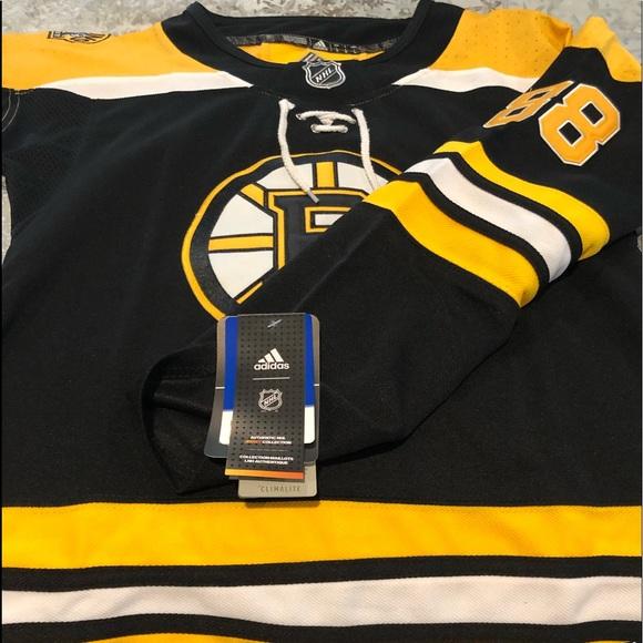 the best attitude eedcf c9045 David Pastrnak Bruins Jersey NWT